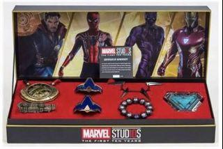Game Stop Marvel 1:1  Power Pack Jewelry