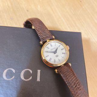 現貨日本購入Gucci 手錶vintage古董錶 二手中古Gucci錶 古馳手錶 二手精品錶