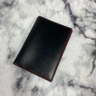Hermès 黑紅 護照夾 超新品 瑞奇二手