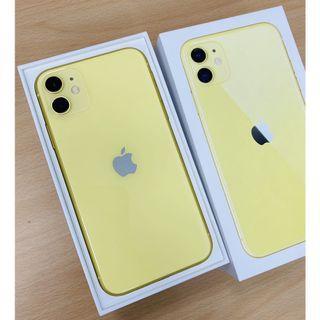 iPhone 11 64g. 6.1吋 黃色 台中面交佳