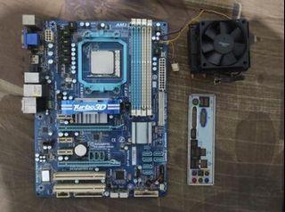 JUALProcessor AMD Phenom II X6 1090T (Bonus Mobo Gigabyte GA-880G-UD3H)