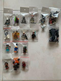 LEGO Star Wars/Marvel/Overwatch/DC/Disney/Custom decaled Minifigures