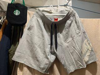 Nike休閒居家短褲男淺灰2XL