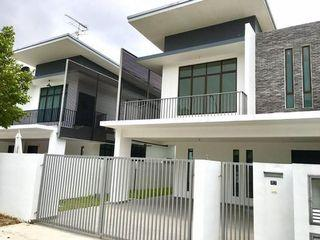 Sendayan New Double Storey [Semi-D Concept] Freehold 0% Downpayment, Gated & Guarded