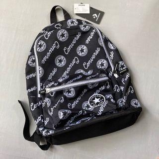 Tas backpack converse full print logo ori original tas sekolat hijat