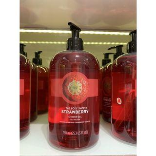 The Body Shop Shower Gel Strawberry 750ml