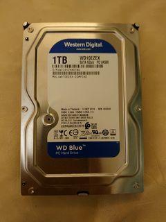 WD藍標 1TB