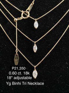 Yg Binhi Tri Necklace