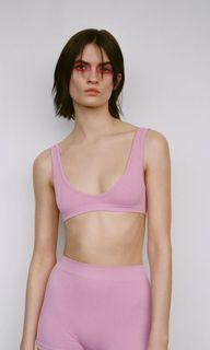 Zara size XS-SMALL BRA/ crop top