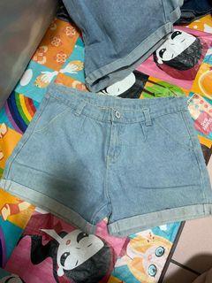 牛仔短褲❤️#618
