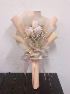 ❤️甜美浪漫鬱金香花束💐限量現貨💕生日、告白、情人節花束