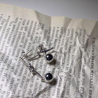 不規則造型耳環