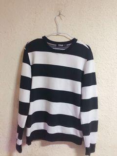 韓系基本款 黑白條紋