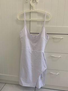 白色洋裝 歐美辣妹