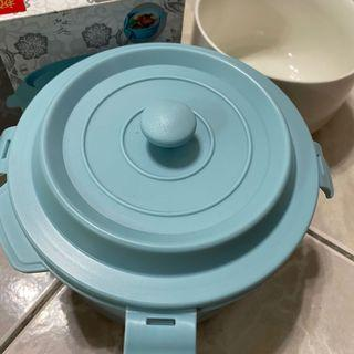 全新 陶瓷 內膽便當造型餐盒