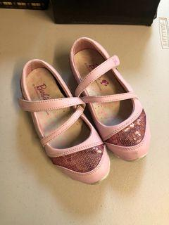 女童 芭比Barbie亮片休閒鞋