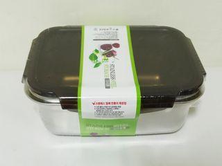 AA1800 韓國 #304不鏽鋼保鮮盒 1800ml