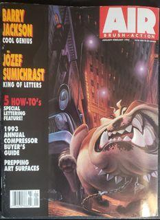 Airbrush Action Magazine jan-feb 1993