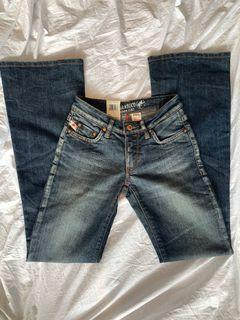 Amazing vintage parasuco flare jeans!