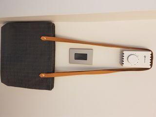 Authentic Hermes Amedaba Canvas Shoulder Bag