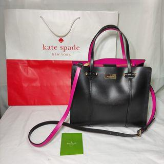 AUTHENTIC Kate Spade Black Arbour Hill Small Elodie