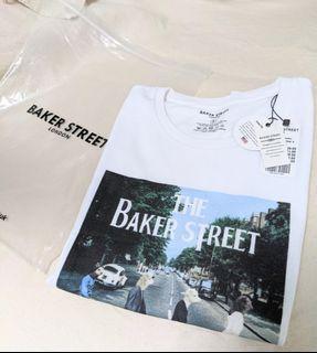英國BAKER STREET  貝克街有機棉短袖T-Shirt S號