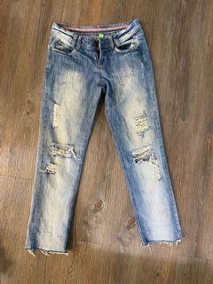 Boyfriend jeans 男朋友風格丹寧牛仔褲