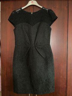 現貨/九成新專櫃-broun sugar挺布精緻蕾絲洋裝
