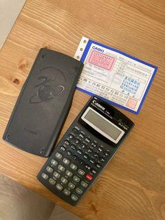 Canon F-604 scientific statistical calculator  計算機