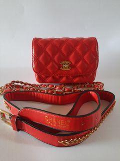 Chanel belt bag no holo