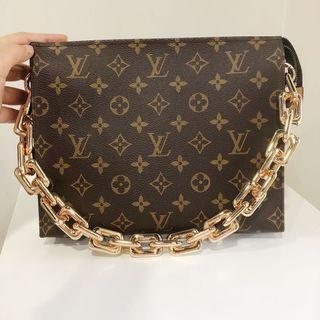Chunky Gold Detachable bag  or pouch Chain