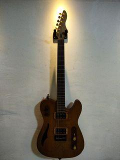 Custom Made Electric Guitar With 2x Dimarzio  + Piezo Pickups