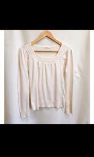 d'gibson Blouse wanita white putih #blousewanita