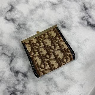 Dior 滿版 零錢包 近新 瑞奇二手精品