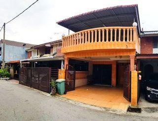 Double Storey Taman Koperasi Polis Fasa 2 Gombak near to Sentul & Bt Caves