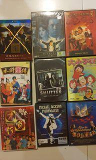 DVDs Clerance