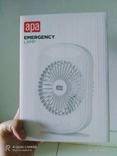 Emergency lamp w/fan 5INCUSB
