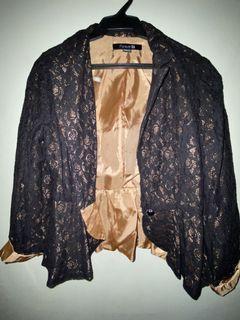 F21 lace coat