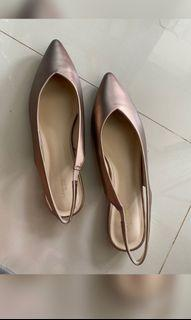 Flat shoes/selop urban n co, free ongkir