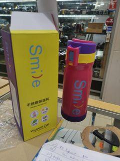 My Smile 500ml Stainless Steel Thermos Drinking Bottle
