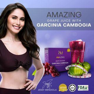 Grape juice with Garcinia Cambogia