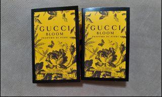 Gucci  Bloom 香水 parfum sample