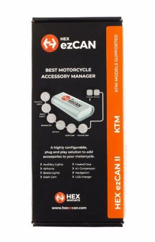 HEX ezCAN - KTM models