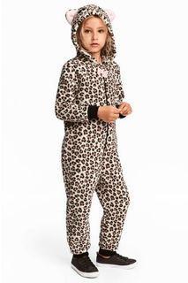 H&M Leopard Jumpsuit