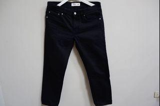 Kenzo 聯名合身黑色牛仔褲