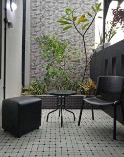 Kursi teras / Kursi puff and table