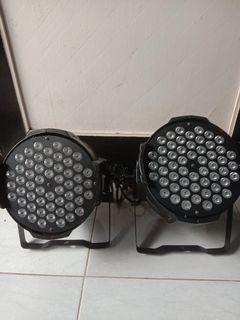 Lampu PAR LED 54 Full Colour ( 2 unit )