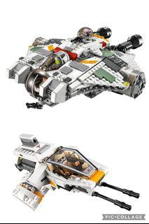 Lego Star Wars (75053 & 75048) The Ghost and Phantom