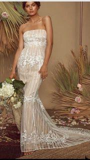 Long Lace Wedding Gown