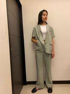 韓國網拍Maysome短袖外套套裝